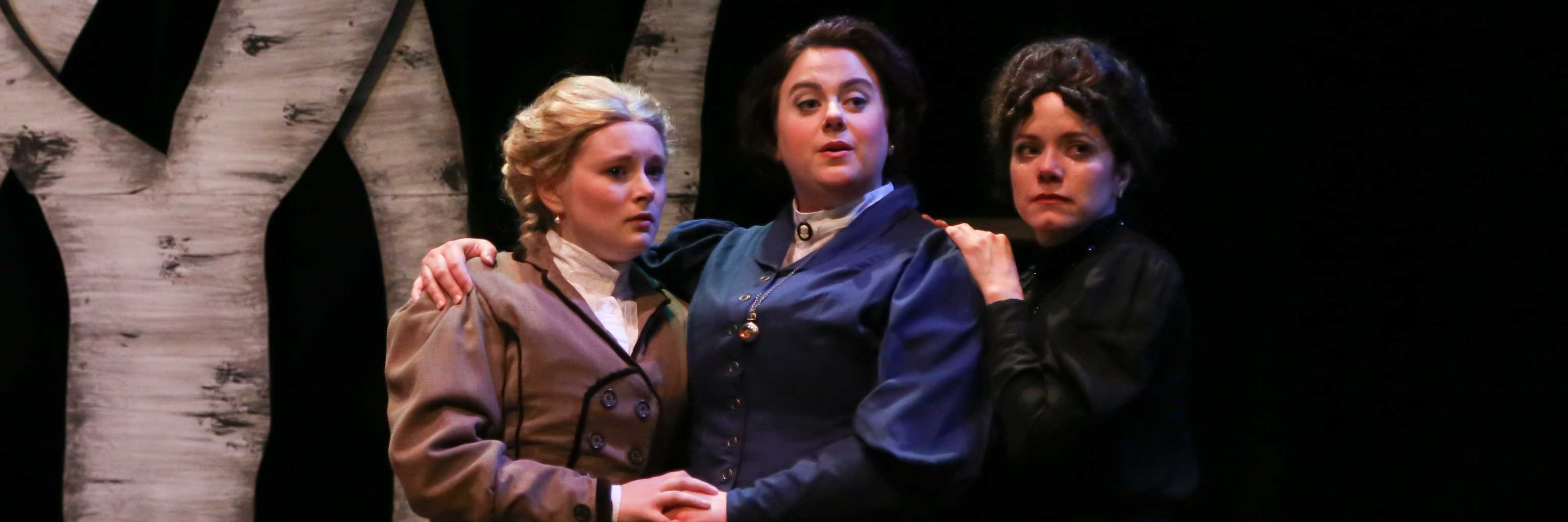 Scene from Three Sisters, featuring the three sisters.