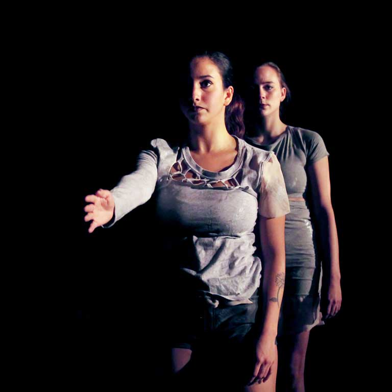 Scene from Diversity, Difference, Otherness: The Junior Contemporary Dance Choreography Projects